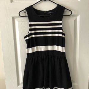 Madewell stripe dress